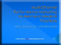 Multi-Channel Marketing 2.0 for Aesthetic Physicians